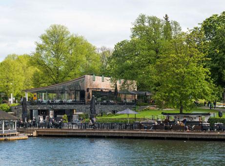 Sommarfest på Djurgården Slöcaféet