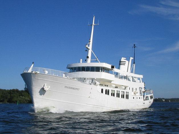 Sommarfest på egen båt i Stockholm