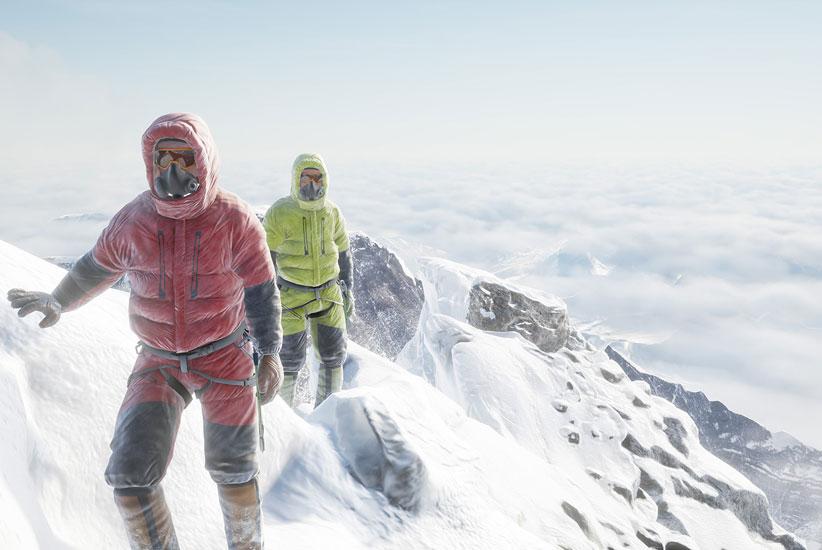 VR Everest mingelaktiviteter