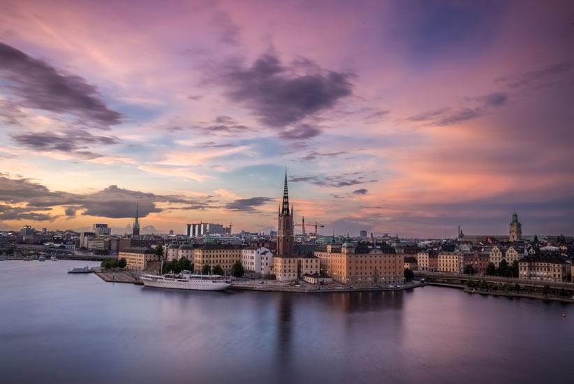 Sommarfest i Stockholm