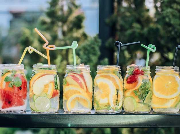 Sommarfest på Takterrass med drinkar