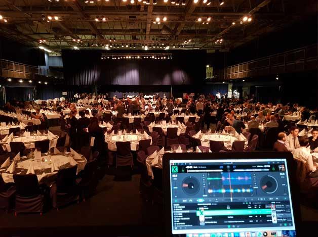 event dj i stockholm konferens kickoff