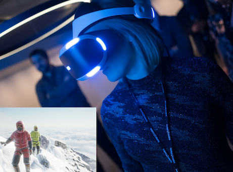 Mingelaktiteter vr virtual reality bergsklättring Mount everest
