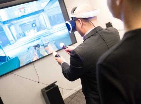 Mingelaktiteter vr virtual reality Shoot skjuta